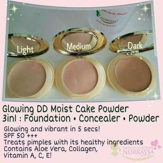 Glowing DDMoistCake for Hijab Muslimah
