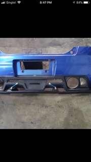Suzuki swift rear bumper
