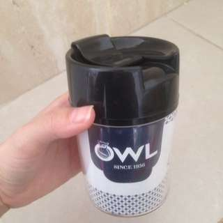 Tumbler owl coffee