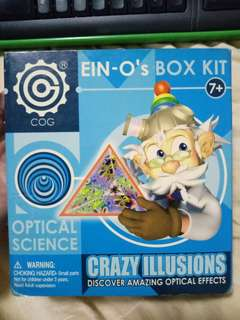 Crazy illusions box kit optical science