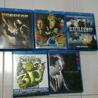 Original Blu rays for clearance.
