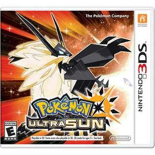已收-Pokémon ultra sun $200