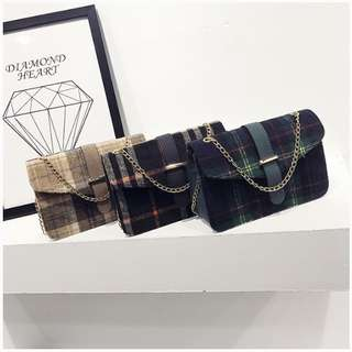 Plaid Slings