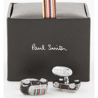 Paul Smith 3D Mini Car Cufflinks