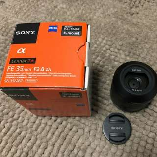 $ 550 Sony Zeiss FE 35 mm f/2.8