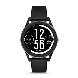 Fossil Q control BLACK SILICONE smartwatch