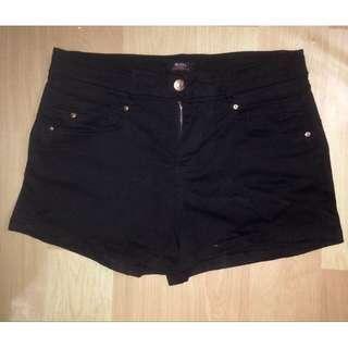 REPRICED!! Black midwaist shorts