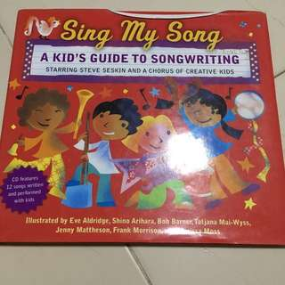 Sing my song (with cd)