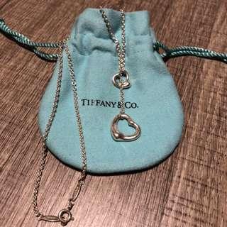 Tiffany 心心頸鍊