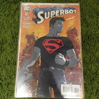 Superboy jeff lemire