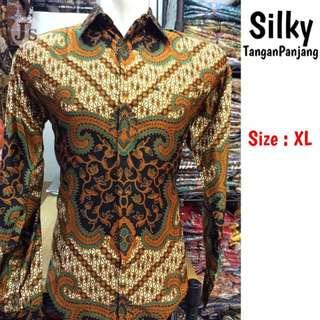 Kemeja Batik Pria Silky