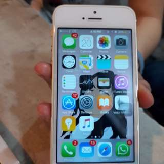 (Nego) Apple iphone 5s gold 16gb