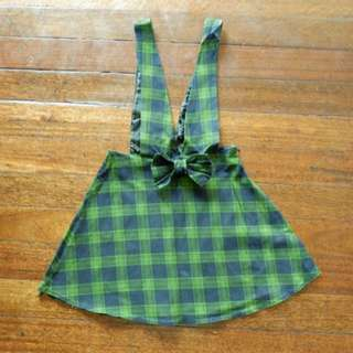 School Girl Suspender Dress