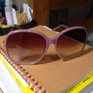 🚚 粉紅框質感墨鏡