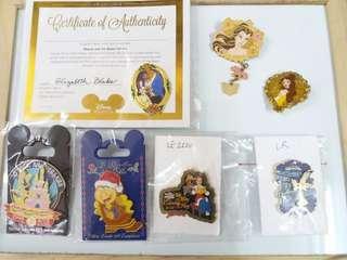 迪士尼樂園Disneyland襟章Pin