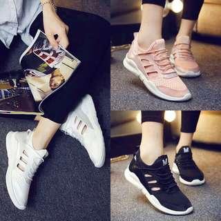 Marina White/Peach/Black Sneakers