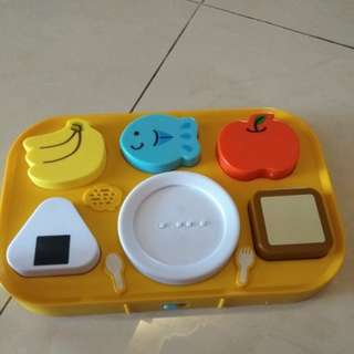 Kitchen Set puzzle (electronic n magnetic)
