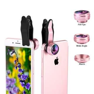 Kaleidoscope + Super Wide Lens iPhone Samsung LG Most Smartphones Mobile Phone, Super camera lens kit