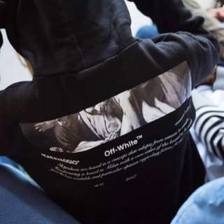 Off white hoodie (LOOKING FOR)