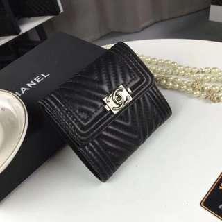 Channel Wallet - Black
