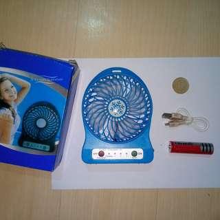 Portable Rechargeable USB Fan