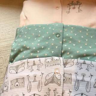 TU UK (similar to Mothercare UK) Sleepsuit 0-3m