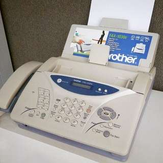 Fax with Built-in Digital Answering Machine