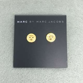 Marc Jacobs Sample Earrings 金色鈕扣耳環