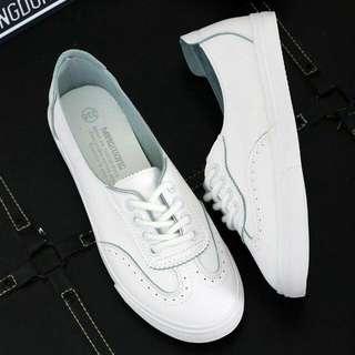 Ziane Oxford White Sneakers