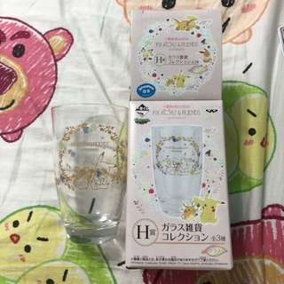 BN Pikachu and Friends Official Glass Cup