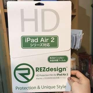 IPad Air 2 mon貼 hd protection 高清