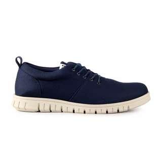 Sepatu Pria Kasual Santai Kets Sneakers Original Navara Powell Blue