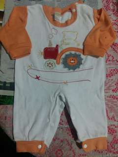 Preloved baby sleepsuits