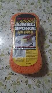 Brand Jumbo Car Sponge