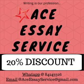 20% Discount 💰💰💰 Essay Assignment Services