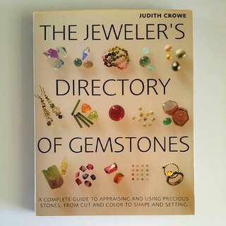 The Jeweller's Directory of Gemstones by Judith Crowe (Adult Non-Fiction Reference)