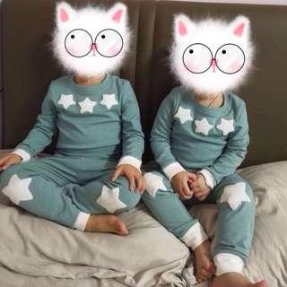 Green Pyjamas