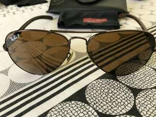 Ray Ban Aviator Limited - Carbon Fiber - Pre Owned