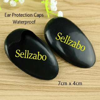 Black Ears Protection Plastic Caps Sellzabo Hair Colour Dye Protect Protecting Waterproof Head Hairdresser Salon