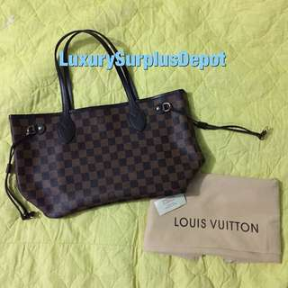 Louis Vuitton Neverful PM in Damier Ebene