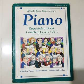 Piano Repertoire Book