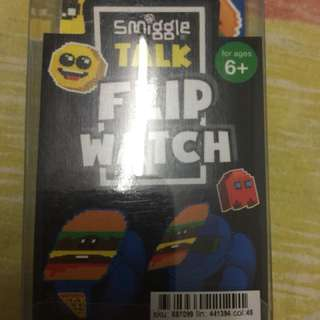 Smiggle talk flip watch