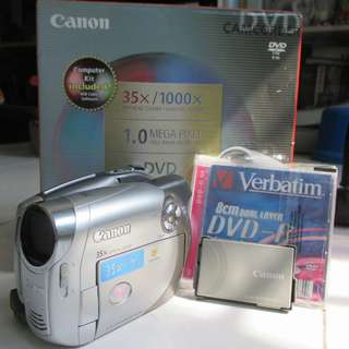 Very Good Condition Canon Camcoder DC230