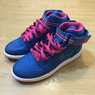 Jordan 1 High Womens - Blue&Pink (EU 36.5 / UK 4 / US 4.5Y / CM 23.5)