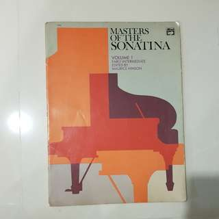 Masters of the Sonatina