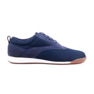 Sepatu Pria Kasual Santai Kets Sneakers Original Navara Paxton Blue