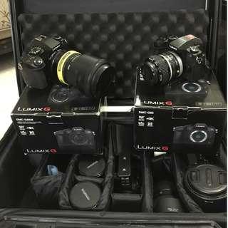 Panasonic G85 , Lenses & Speed Booster