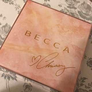 Chrissy Teigen Becca Palette