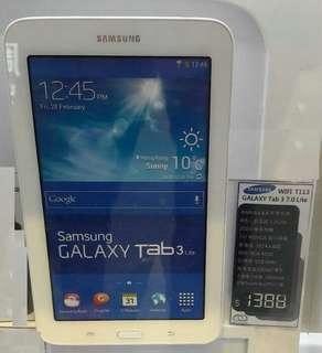 Samsung Galaxy Tabs Lite SM-T113 平版電腦