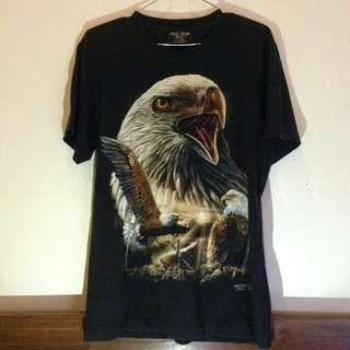 Tshirt eagle (glow in the dark)